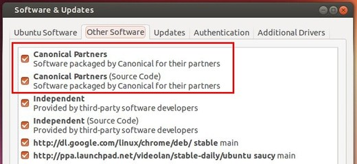 enable canonical partners