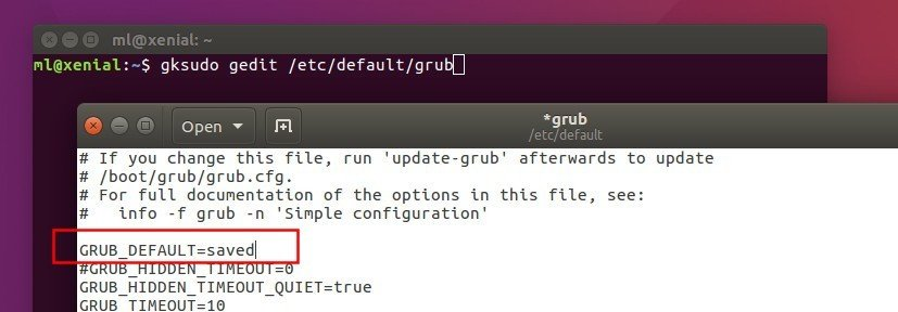 How to Change Grub2 Boot Order in Ubuntu 16 04 - Tips on Ubuntu