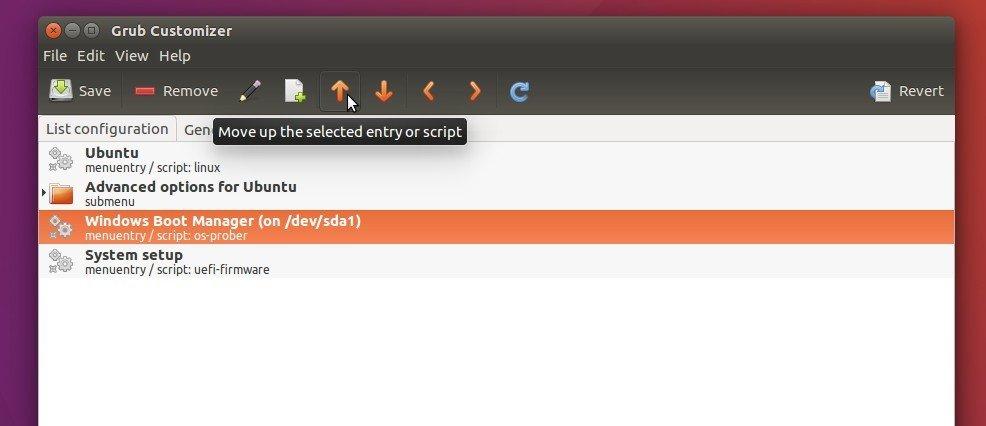 How to Change Grub2 Boot Order in Ubuntu 16 04 - Tips on Ubuntu
