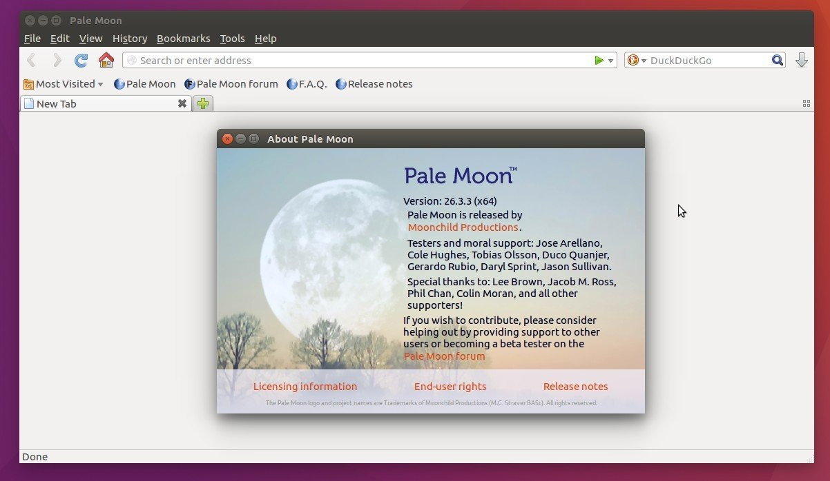 How to Install Pale Moon Web Browser in Ubuntu 16 04 - Tips on Ubuntu