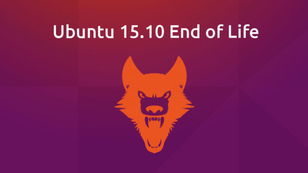 Ubuntu 15.10 End of Life