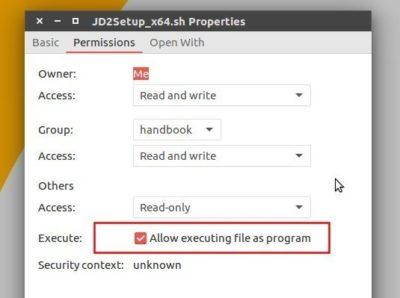 Jdownloader script executable