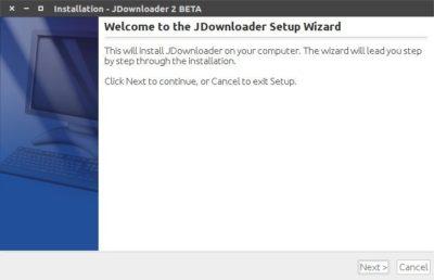 Jdownloader 2 wizard