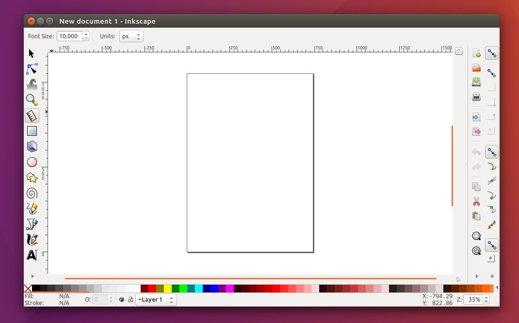 Open source vector drawing software inkscape released Open source svg editor