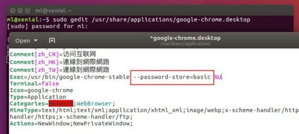 Google Chrome Asks Password to Unlock Login Keyring - Tips on Ubuntu