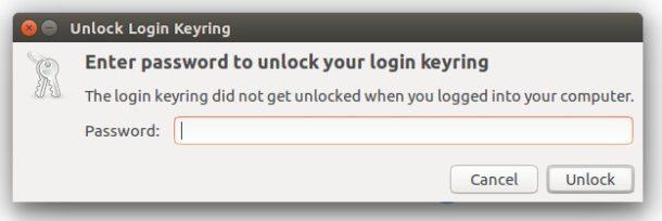 unlock keyring