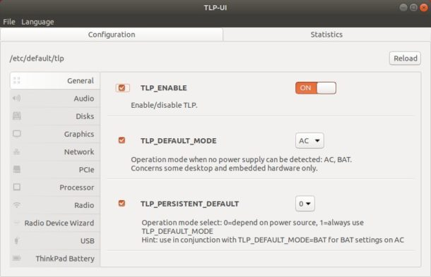 TLP-UI