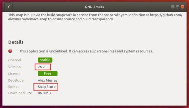 gnu-emacs-snap