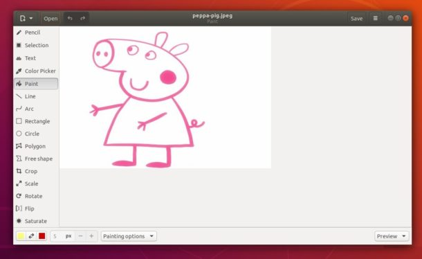 drawing-ubuntu