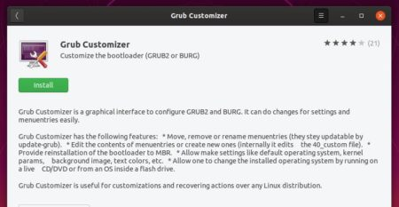 install-grubcustomizer